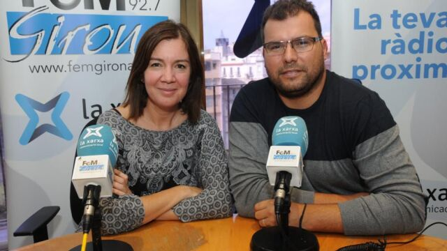 Elena Piñeiro a Tot és un joc Fem Girona Ràdio