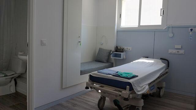 habitació Àrea de curta estada Clínica Bofill Girona Centre